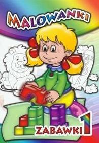Malowanki Zabawki 1 - Liwona