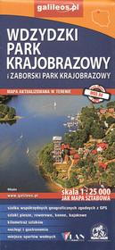 Plan Wdzydzki Park Krajobrazowy i Zaborski Park Krajobrazowy, 1:25 000