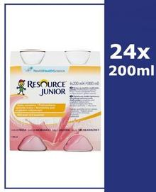 Nestle Health Science RESOURCE JUNIOR Smak truskawkowy 24x200 ml
