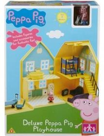 Peppa domek deluxe z figurkami. Świnka Peppa