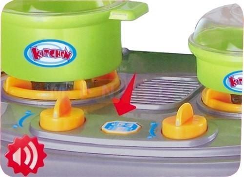 Norimpex Interaktywna Kuchnia Dla Dzieci Garnki Talerzyki No