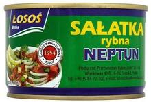 Łosoś Sałatka rybna Neptun 170 g Ustka
