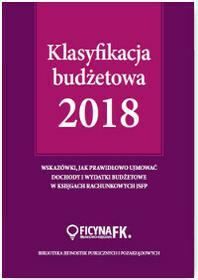 KLASYFIKACJA BUDŻETOWA 2018 ELŻBIETA GAŹDZIK DARMOWA DOSTAWA DO KIOSKU RUCHU OD 24,99ZŁ