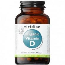 Viridian Ekologiczna Witamina D (60 kasułek) Viridian