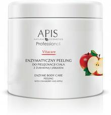 Apis Professional Vitacare Enzymatyczny peeling do pielęgnacji ciała z żurawiną i jabłkiem 500 g