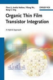 Wiley-VCH Verlag GmbH Organic Thin Film Transistor Integration