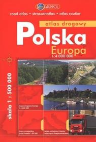 Polska Europa Atlas drogowy