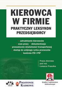 ODDK Kierowca w firmie - praktyczny leksykon przedsiębiorcy (z suplementem elektronicznym) - ODDK