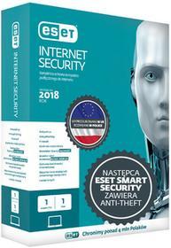 ESET Internet (Smart) Security 1PC/3Lata Odnowienie - najnowsza wersja 11 2018