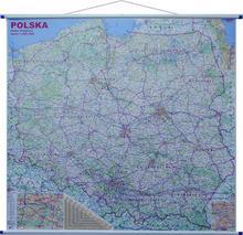 Polska mapa ścienna drogowa 1:500 000 Jokart
