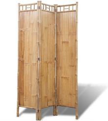 vidaXL 3-Panelowy parawan bambusowy