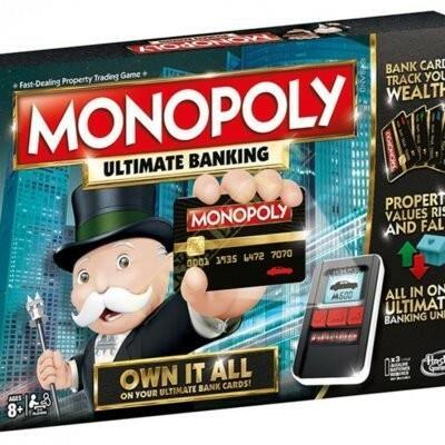 Hasbro MONOPOLY ULTIMATE BANKING B6677