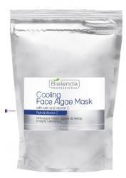 BielendaProfessional Cooling Face Algae Mask With Rutin And Vitamin C chłodząca maska algowa do twarzy z rutyną i witaminą C Opakowanie Uzupełniające 190g