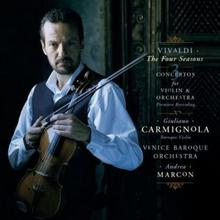 Vivaldi Le Quattro Stagioni And Three Concertos For Violin And Orchestra Reedycja) CD) Giuliano Carmignola Venice Baroque Orchestra