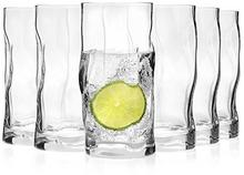Bormioli Sorgente komplet 6 szklanek o pojemności 420 ml, wysokość całkowita: 15,5 cm 215030