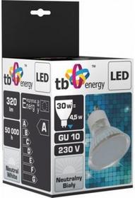 TB Energy Żarowka LED GU 10 230V 4,5W Biały Neutralny LLTBEGUS0450031