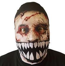 L&S PRINTS FOAM DESIGNS Efekt 3d Monster jamy ustnej Zombie maska na twarz Skin kostucha Halloween Horror wyprodukowana w Yorkshire
