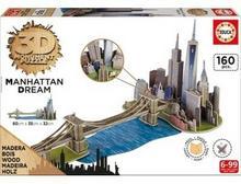 Educa Puzzle 3D Manhattan Dream GXP-584091