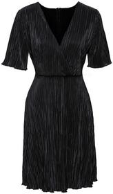 Bonprix Sukienka plisowana czarny