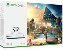 Microsoft Xbox One S 500GB Biały + Assassin's Creed: Origins