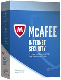 McAfee Internet Security 1PC /1Rok 5 min