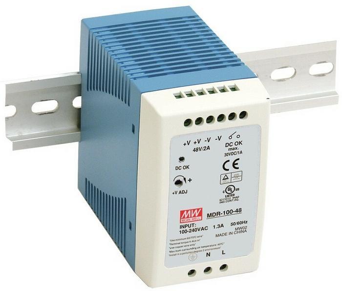 Mean Well Zasilacz LED MDR 100W 24V/DC MDR-100-24