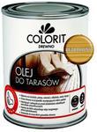 Colorit Olej do tarasów  Drewno bezbarwny 0 75 l