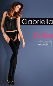 Gabriella Rajstopy Erotica Strip Panty Micro Code 638