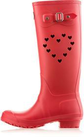 Mei kalosze damskie BB 1 Heart 36 czerwony
