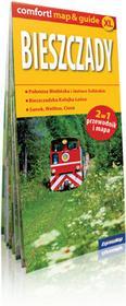 ExpressMap praca zbiorowa comfort! map&guide XL Bieszczady 2w1. Laminowany map&guide XL 1:200 000