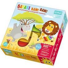 Trefl Little Planet, Safari Bam! Bam! Moja Pierwsza Gra Muzyczno-Ruchowa