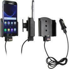 Brodit AB Uchwyt do Samsung Galaxy S7 z wbudowanym kablem USB oraz ładowarką samochodową. 521863