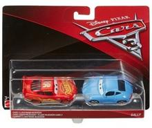 Mattel CARS 3 Dwupak Lightning McQueen & Sally Die-Cast Vehicle