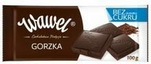 Wawel Czekolada gorzka bez cukru 100g 11BROCZEDE