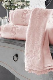 Soft Cotton Zestaw podarunkowy ręczników LUNA Różowy 10382_BOX
