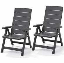 Krzesło ogrodowe BRASILIA antracyt