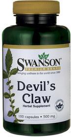 SWANSON Diabelski (czarci) pazur Devil's claw 500 mg 100 kaps.