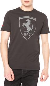 Puma Ferrari Shield Koszulka Szary XL (125168)