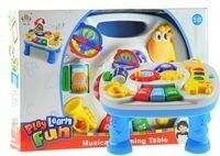 Lean Toys Multifunkcyjny stoliczek edukacyjny z żyrafą