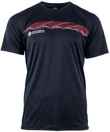 Columbia Sportswear Koszulka termoaktywna Zero Rules Graphic Black K/R (AM6463 010)
