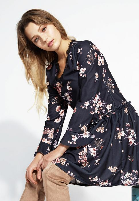 915db258ce90 Renee Czarna Sukienka Sleepy Petal – ceny