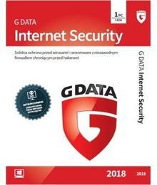 GData Internet Security 2018 1 PC 1 rok) BLACK FRIDAY Od 24 do 26 listopada