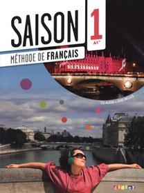 DIDIER Saison 1 Podręcznik + CD + DVD A1+ - Cocton Marie-Noelle, Heu Elodie, Houssa Catherine