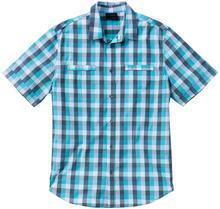 Bonprix Koszula w kratę Regular Fit morski w kratę