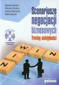 Poltext Scenariusze negocjacji biznesowych-(książka z płytą CD). Trening umiejętności - Wojciech Sambor, Wojciech Skrobisz, Dariusz Babrzyński