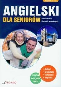 Edgard Angielski dla Seniorów (książka + 3 x CD Audio) - Joanna Szyke, Katarzyna Zimnoch