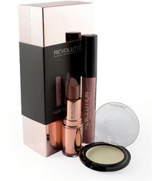 Makeup Revolution Luxe Shade Blocks Zestaw prezentowy rose gold