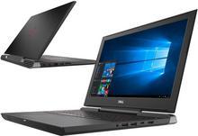 "Dell Inspiron 7577 15,6\"" 4K, Core i7, 1TB HDD, 512GB SSD, 16GB RAM, GTX1060, W10H"