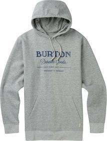 Burton bluza męska DURABLE GOODS PO GRAY HEATHER