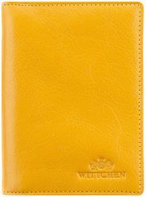 Wittchen 21-2-163-Y Etui na dokumenty żółty